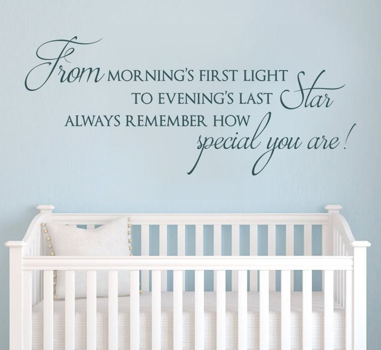 From Morning First Light Wall Sticker Wall Sticker - Wall Chick