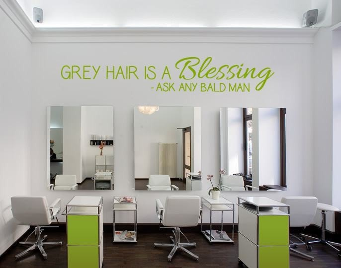 Grey Hair is a Blessing Wall Sticker - Wall Chick