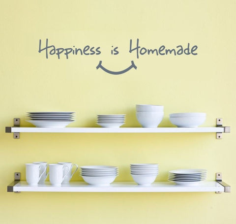 Happiness is Homemade Wall Sticker - Wall Chick