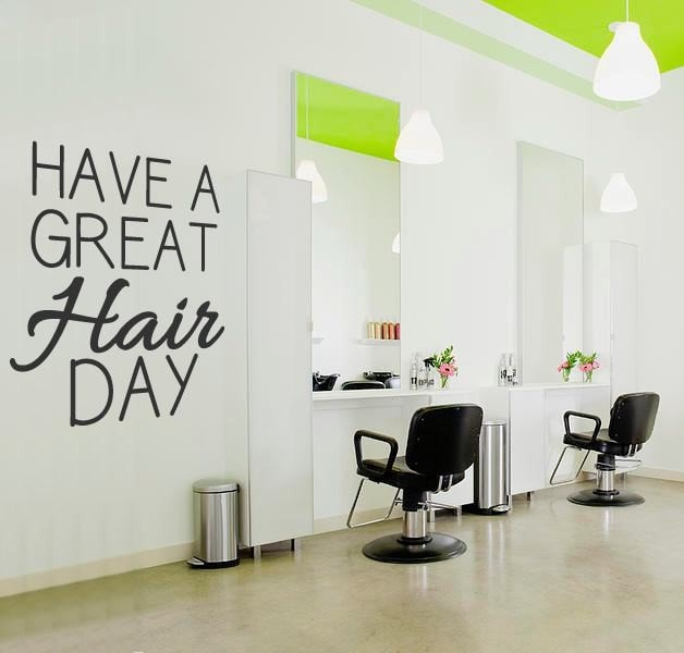 Have a Great Hair Day Wall Sticker - Wall Chick