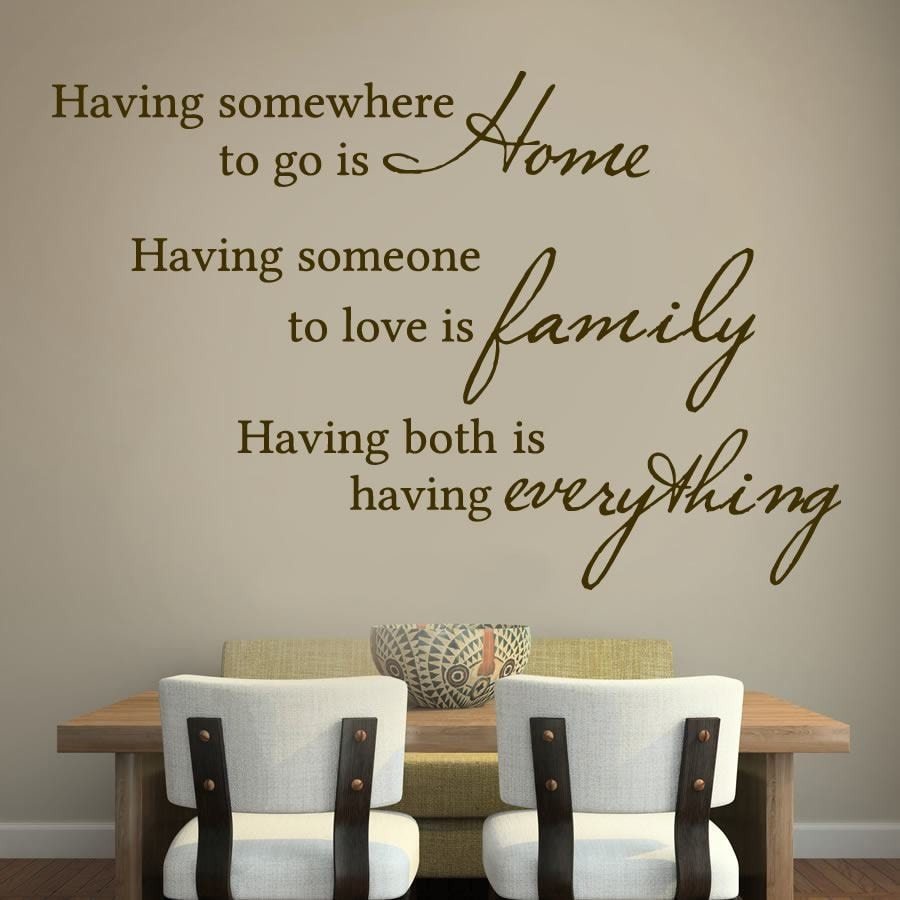 Having Everything Wall Sticker Wall Sticker - Wall Chick