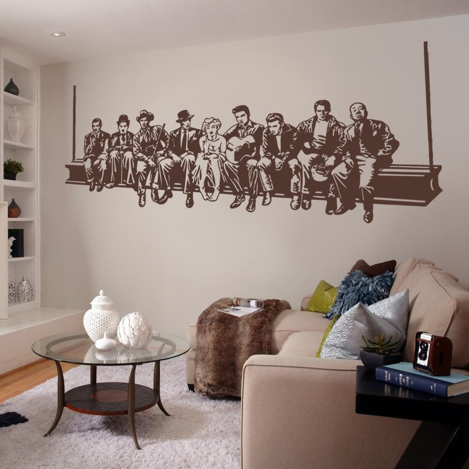 Hollywood Heroes Wall Sticker - Wall Chick