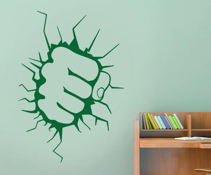 Hulk Fist Wall Sticker - Wall Chick