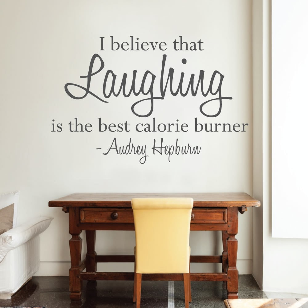 I Believe that Laughing Wall Sticker - Wall Chick