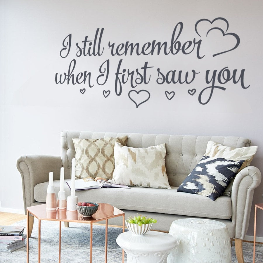 I Still Remember Wall Sticker - Wall Chick