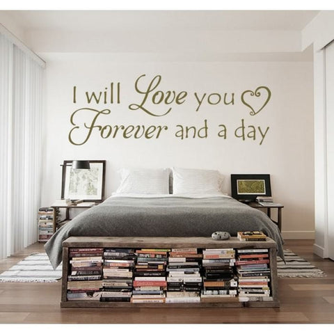 I Will Love You Wall Sticker - Wall Chick