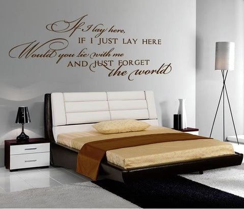 Chasing Cars Wall Sticker - Wall Chick