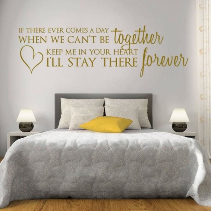 If There Ever Comes a Day Wall Sticker - Wall Chick