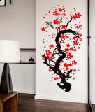 Japanese Cherry Tree Blossom Wall Sticker