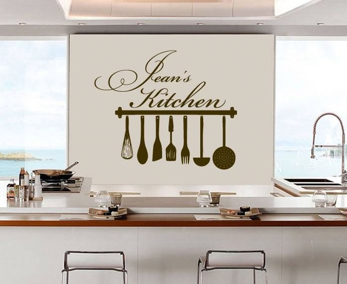 Kitchen + Name Wall Sticker - Wall Chick