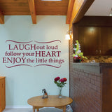 Laugh Out Loud Wall Sticker - Wall Chick