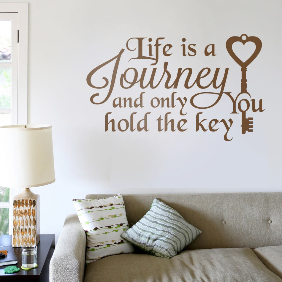 Life is a Journey Wall Sticker