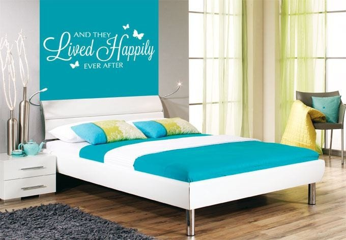 And They Lived Happily Ever After Wall Sticker - Wall Chick