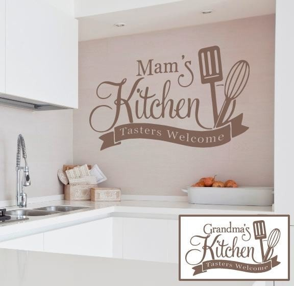 Mam's Kitchen Wall Sticker - Wall Chick