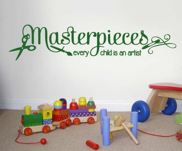 Masterpieces Wall Sticker - Wall Chick