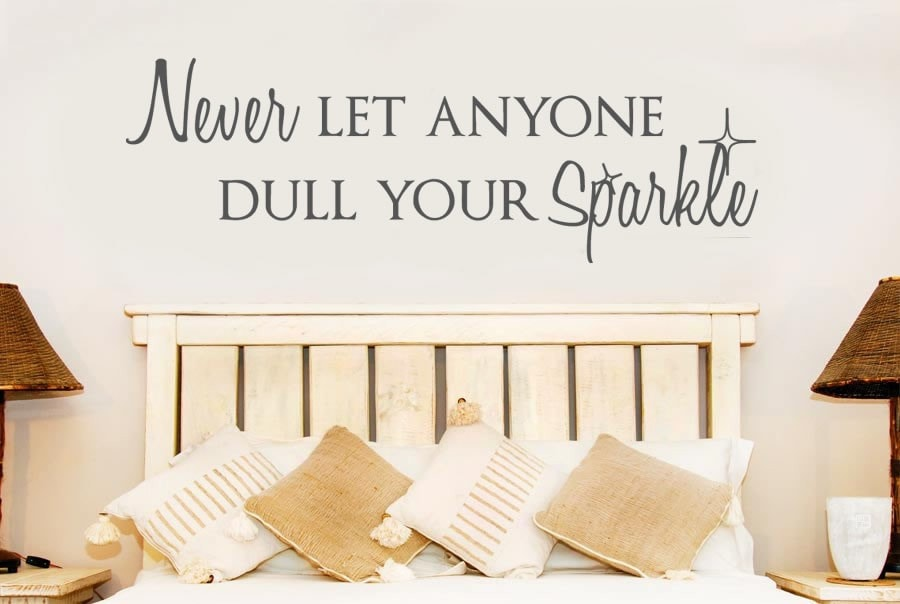 Never Let Anyone Wall Sticker - Wall Chick