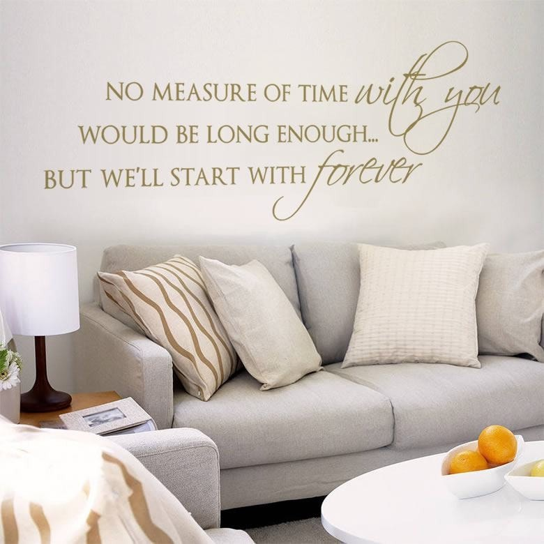 No Measure Of Time Wall Sticker - Wall Chick