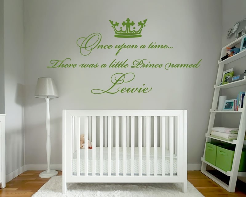 Once Upon A Time Old Wall Sticker - Wall Chick