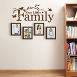 Our Little Family Wall Sticker - Wall Chick
