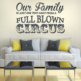 Our Family Circus Wall Sticker - Wall Chick