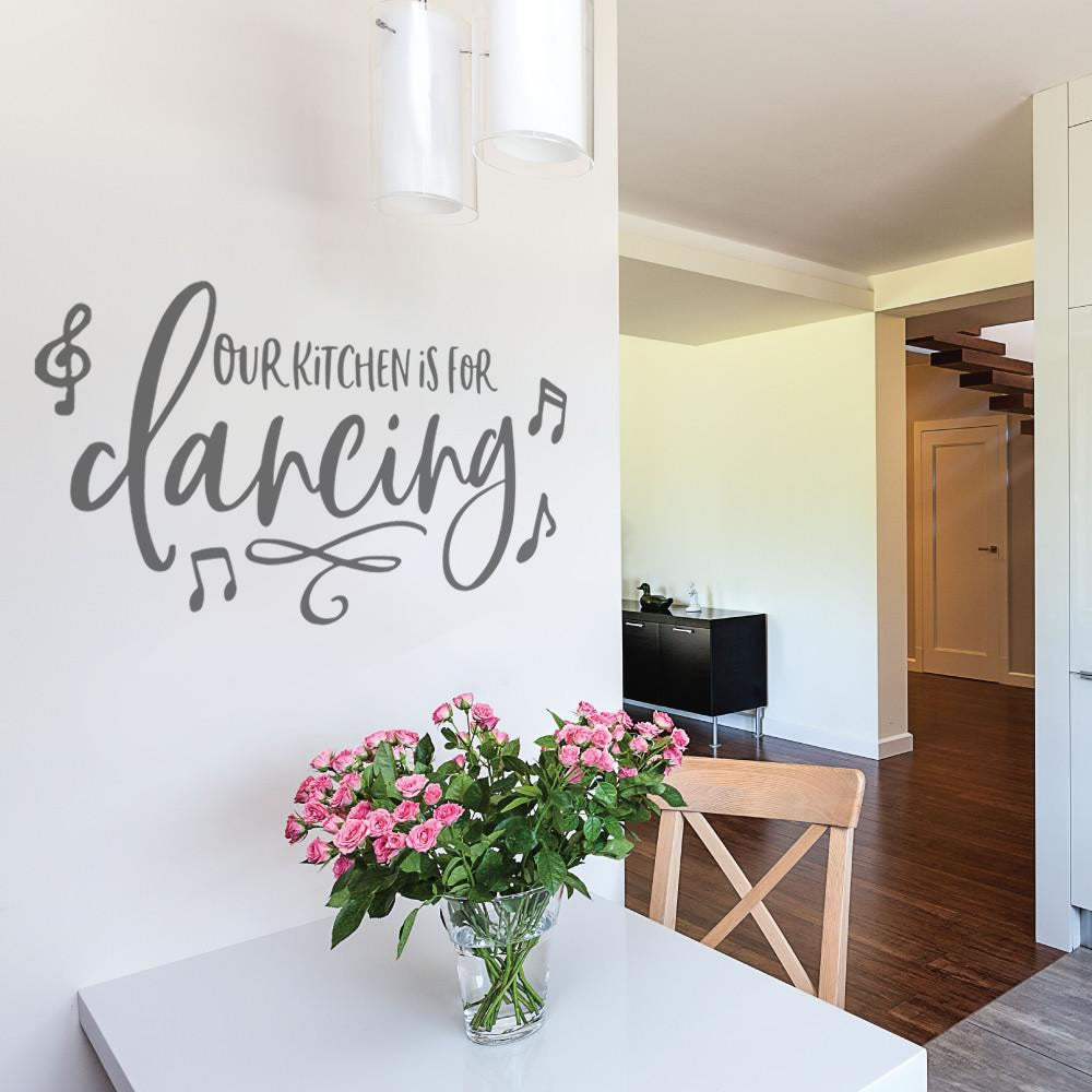 Our Kitchen is for Dancing Wall Sticker