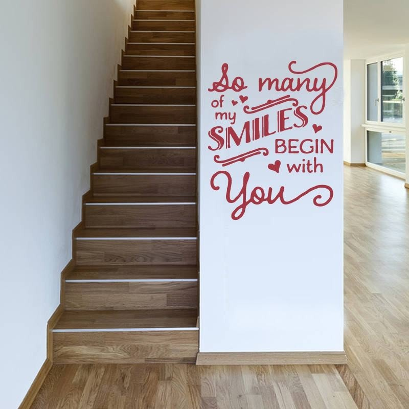 So Many Smiles Wall Sticker - Wall Chick