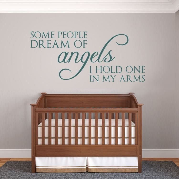 Some People Dream of Angels Wall Sticker - Wall Chick