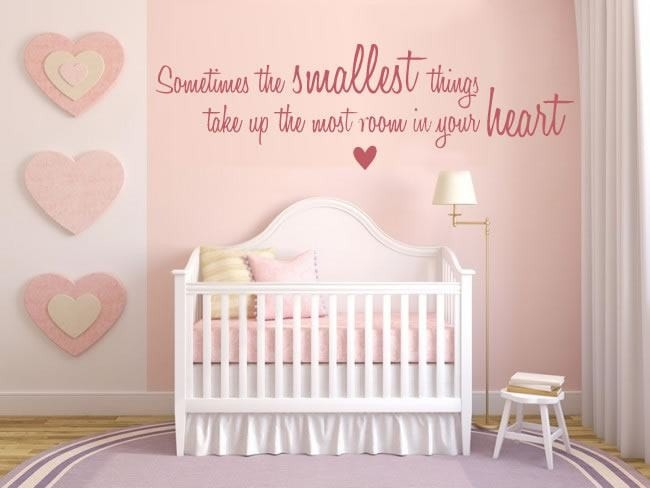 Sometimes the Smallest Things Wall Sticker - Wall Chick