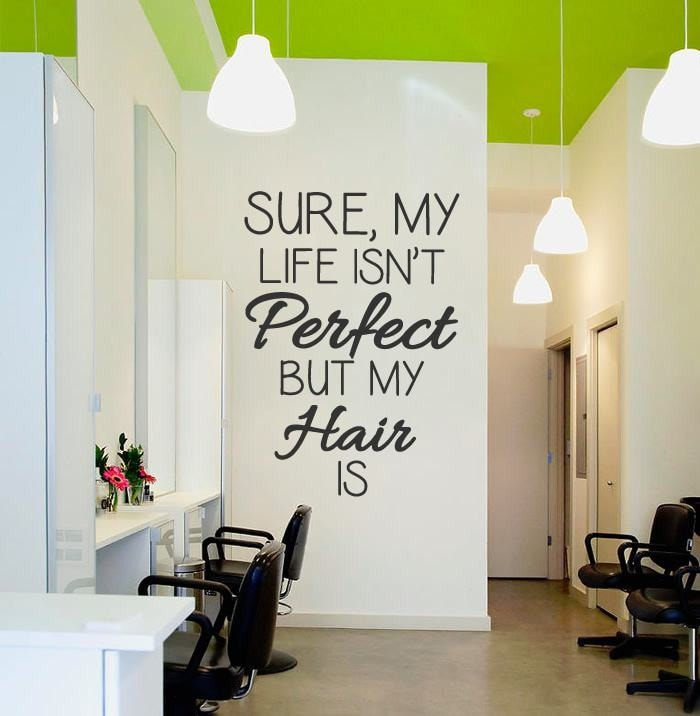 Sure My Life Isn't Perfect Wall Sticker - Wall Chick