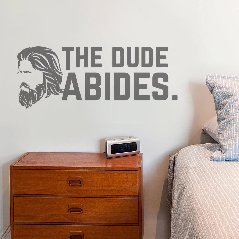 The Dude Abides Wall Sticker