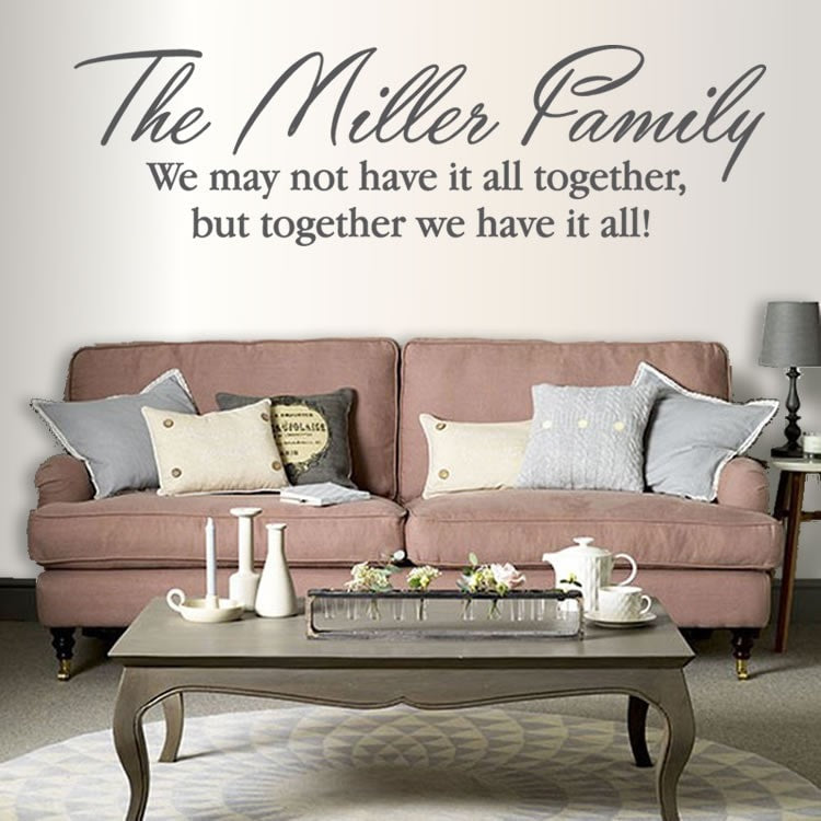 Family Have it All Together Wall Sticker - Wall Chick