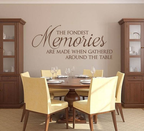 The Fondest Memories Wall Sticker - Wall Chick