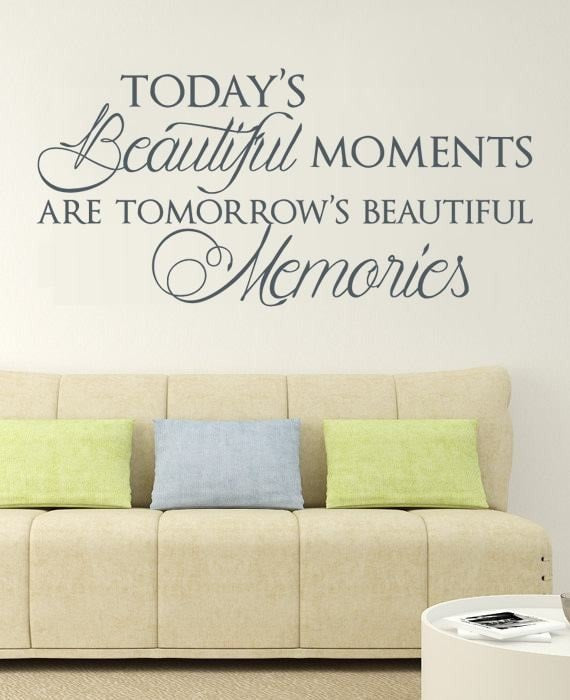 Today's Beautiful Moments Wall Sticker - Wall Chick