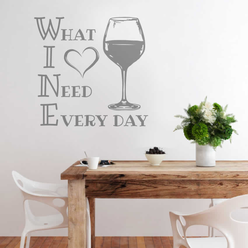 WINE What I Need Everyday