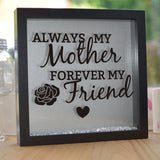 Always My Mother Glitter Frame