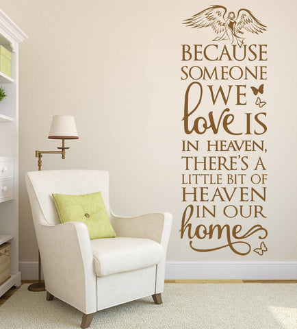 Angel Heaven Wall Sticker - Wall Chick