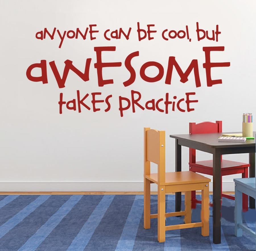 Anyone Can Be Cool Wall Sticker - Wall Chick