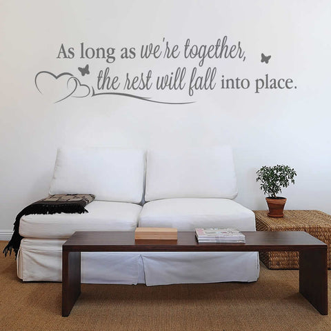 As Long as We're Together Wall Sticker