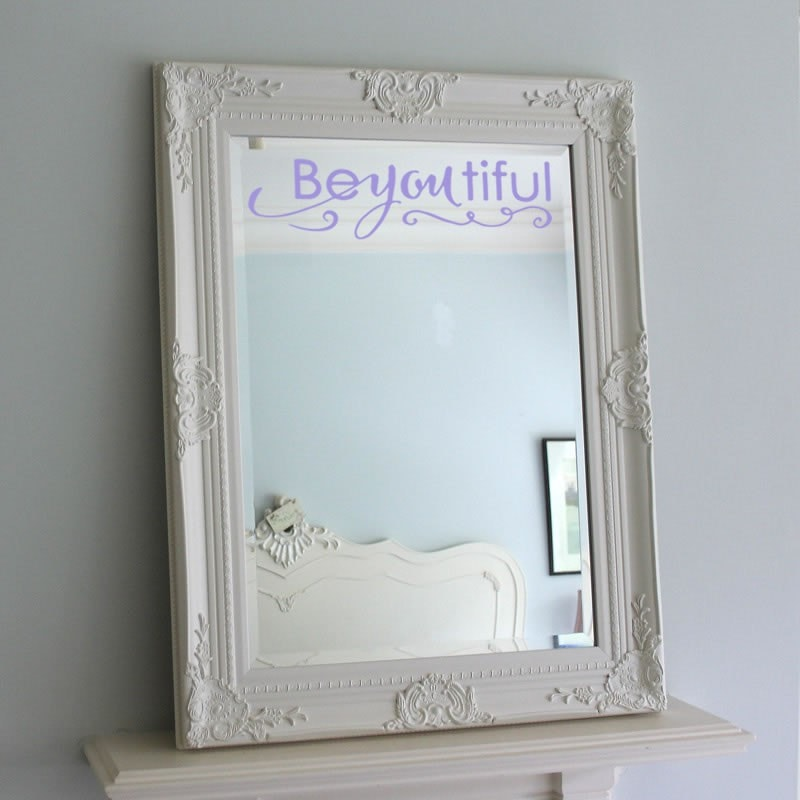 Be you tiful Mirror/Wall Sticker Wall Sticker - Wall Chick