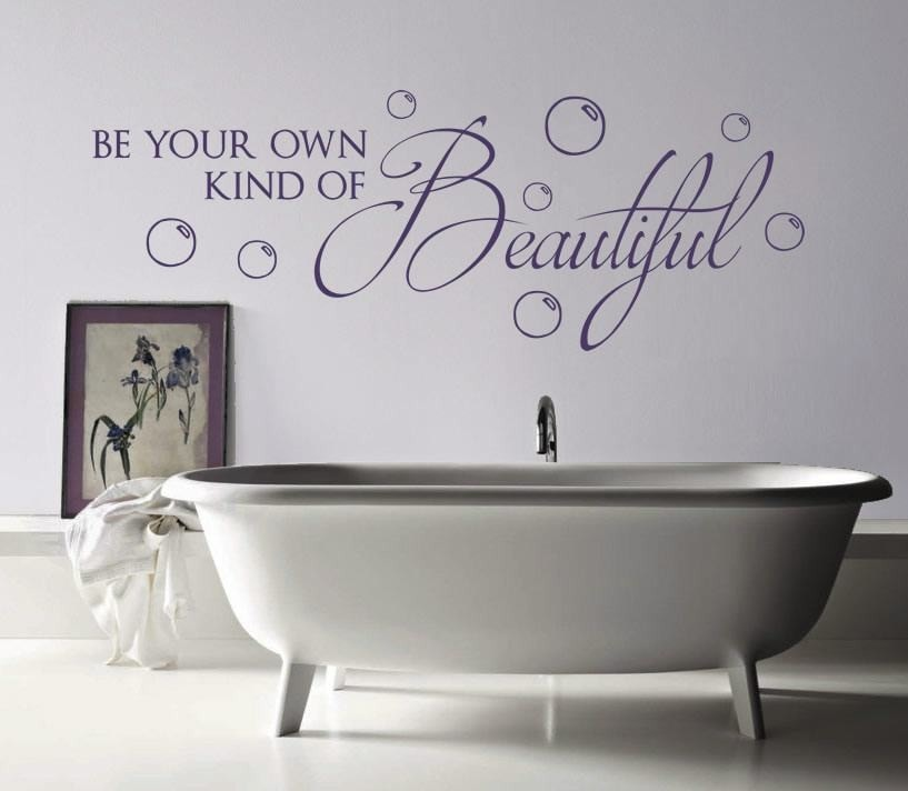 Be Your Own Kind of Beautiful Wall Sticker Wall Sticker - Wall Chick