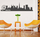 Bristol Skyline Wall Sticker Wall Sticker - Wall Chick