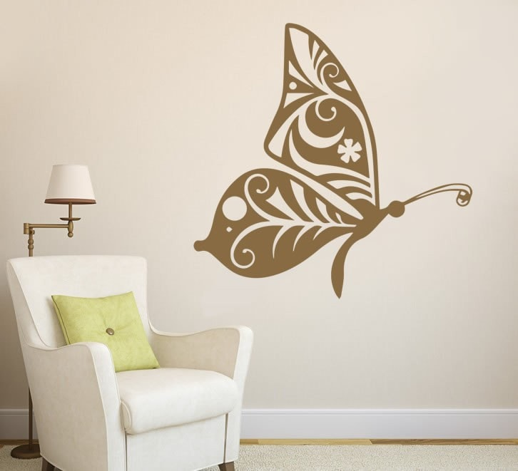 Butterfly Side Wall Sticker Wall Sticker - Wall Chick