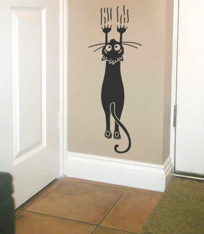 Cat Scratch Wall Sticker