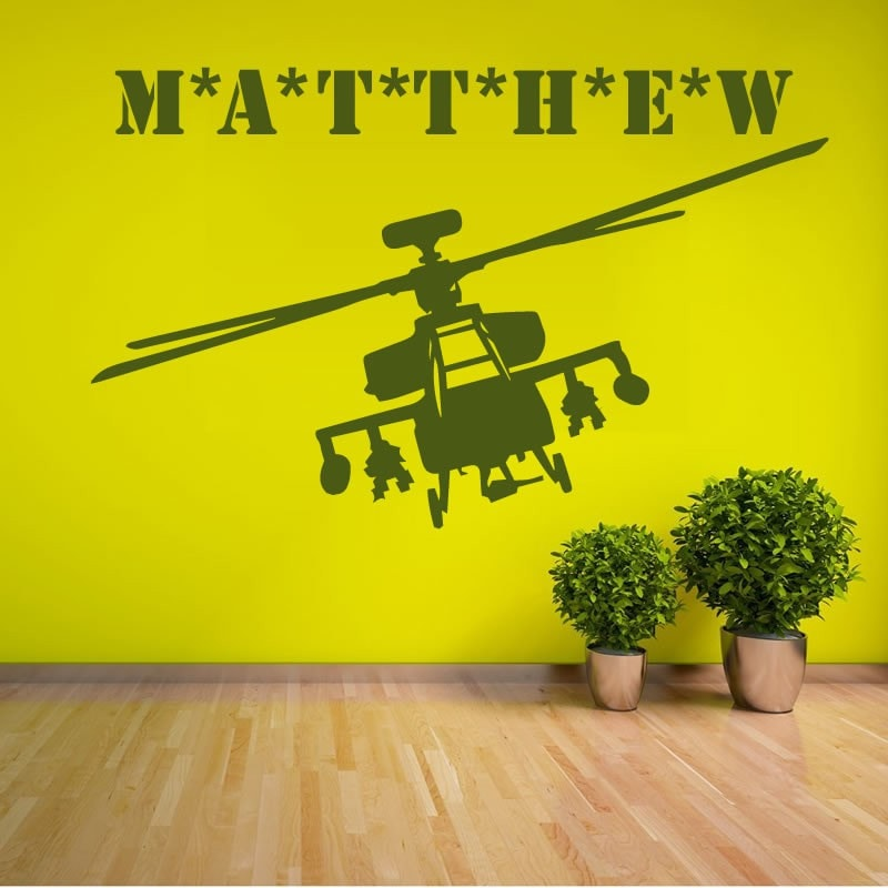 Chopper with Name Wall Sticker - Wall Chick