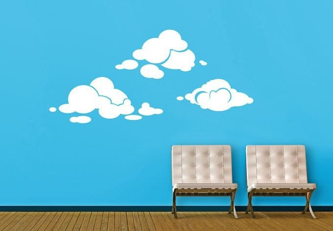 Clouds Wall Sticker Wall Sticker - Wall Chick