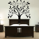 Curly Tree Wall Sticker - Wall Chick