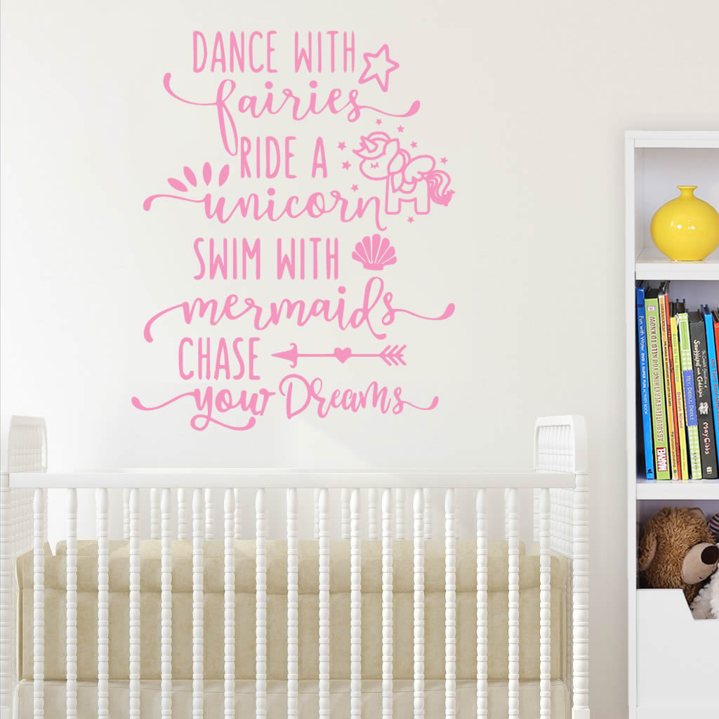 Dance with Fairies Wall Sticker