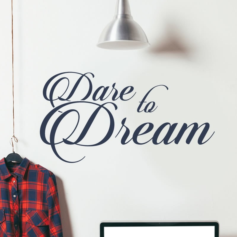 Dare to Dream Wall Sticker - Wall Chick