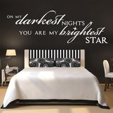 Darkest Nights Wall Sticker - Wall Chick
