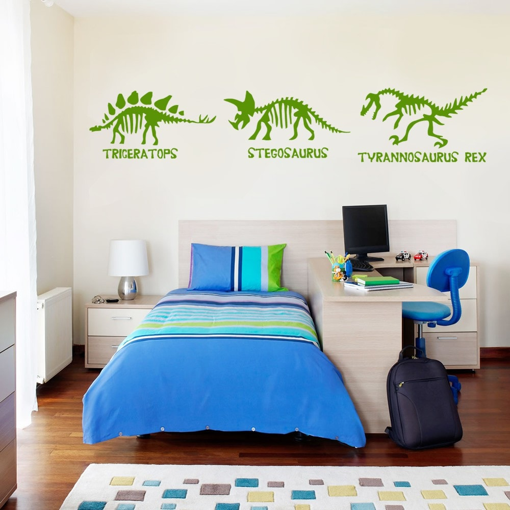Dinosaur Bones Wall Sticker - Wall Chick